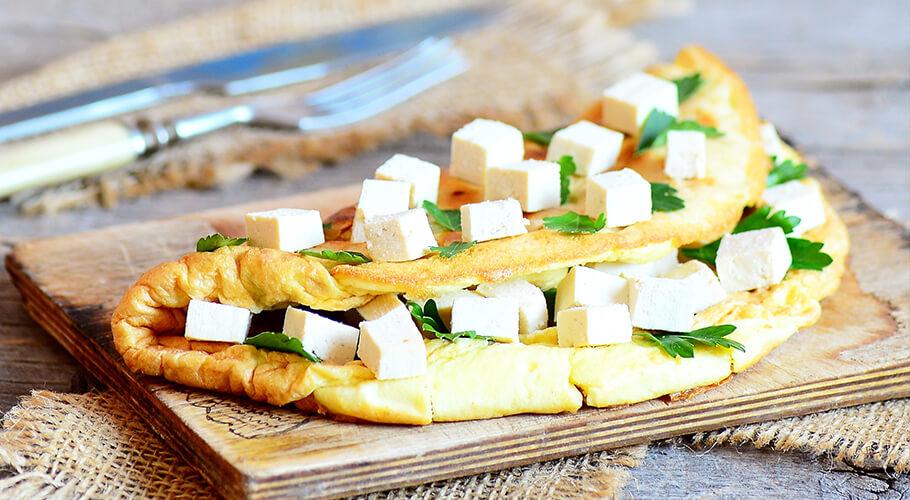 Omeleta s tofu