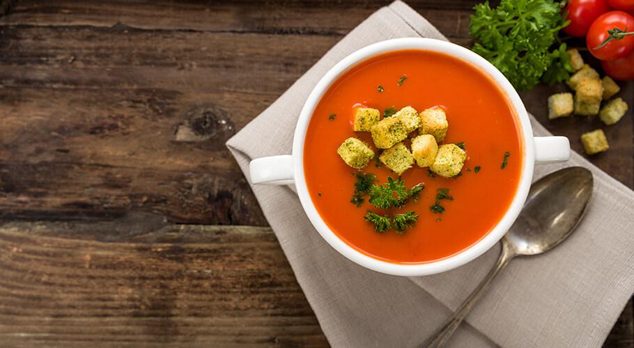 Lahodná paradajková polievka