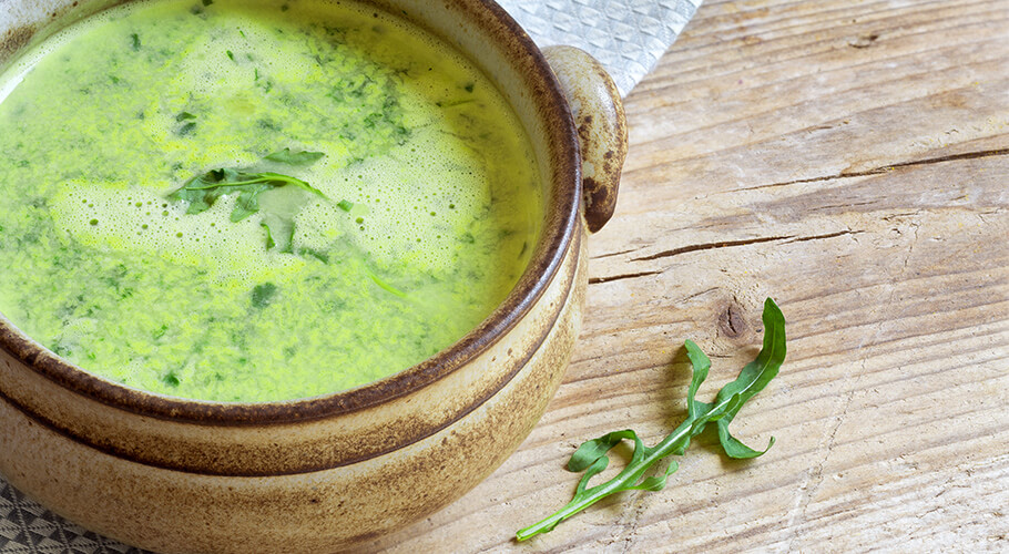 Rukolová polievka