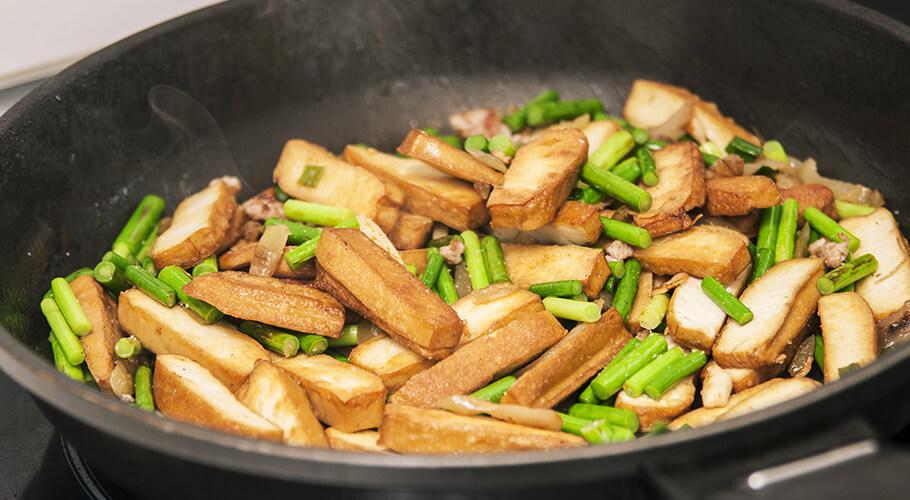 Tofu s fazuľkami