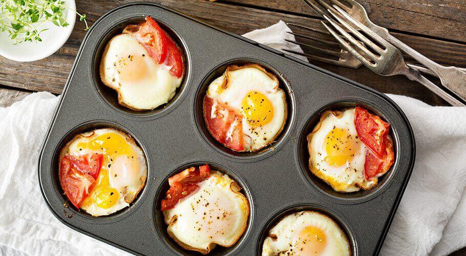 Zapekané vajcia