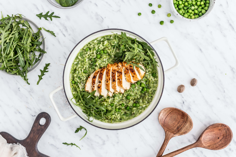 LaPetit: Hráškové rizoto s kuriatkom