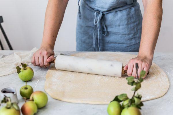 jablkovo škoricové rolky