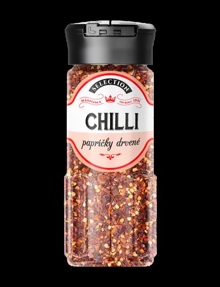 Chilli papričky drvené 35g
