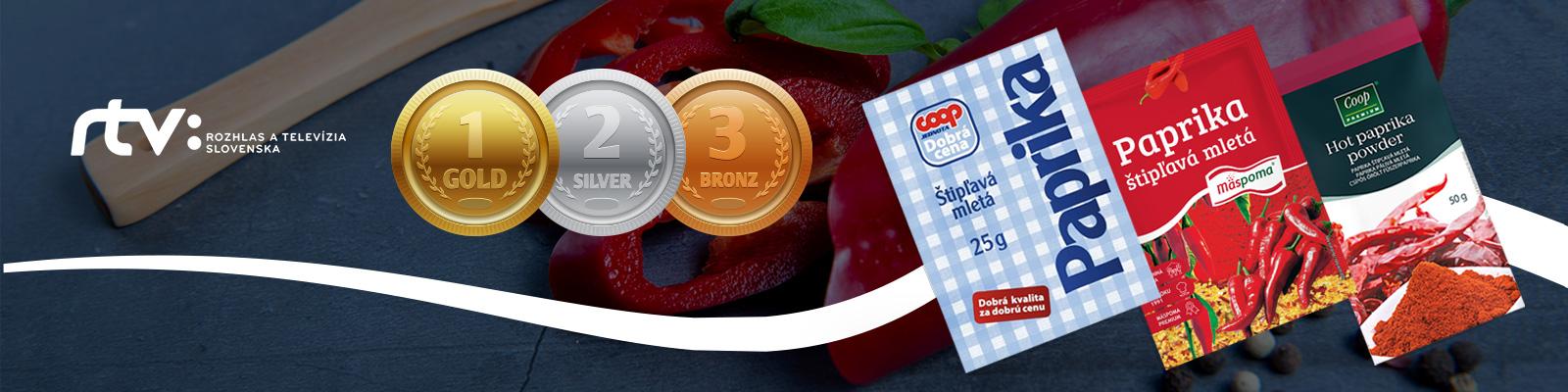Kvalitná štipľavá paprika? Vteste najlepšie obstáli výrobky z Mäspomy